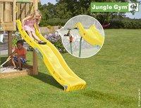 Jungle Gym tour de jeu en bois House avec toboggan jaune-Image 2