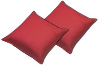 Sleepnight set de 2 taies d'oreiller rouge