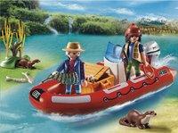 Playmobil Wild Life 5559 Rubberboot met stropers-Afbeelding 1