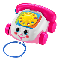 Fisher-Price jouet à tirer Chatter Telephone rose