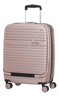 American Tourister harde reistrolley Aero Racer Spinner Front 15.6/ Laptop Rose Pink 55 cm-Rechterzijde