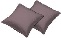 Sleepnight set de 2 taies d'oreiller chocolat