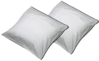 Sleepnight set de 2 taies d'oreiller gris