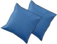 Sleepnight set de 2 taies d'oreiller bleu