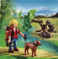 Playmobil Wild Life 5562 Bevers met natuurwetenschapper-Afbeelding 1
