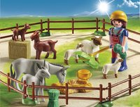 Playmobil Country 6133 Fermière avec animaux-Image 1