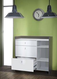 Demeyere Meubles Keukenkast Battery wit decor-Afbeelding 4