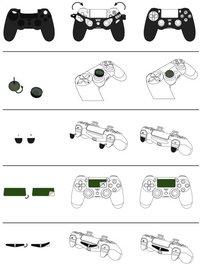 Hama pack d'accessoires pour manette PS4 Soccer-Détail de l'article