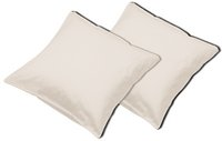 Sleepnight set de 2 taies d'oreiller café au lait