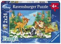 Ravensburger puzzle 2 en 1 Mon ami Bambi