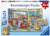 Ravensburger puzzle 2 en 1 La station-service