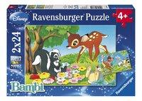 Ravensburger puzzel 2-in-1 Bambi en z'n vriendjes