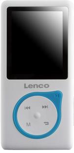 Lenco lecteur MP4 Xemio-657 4 Go bleu-Avant