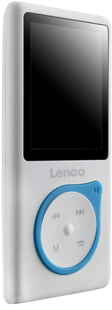 Lenco lecteur MP4 Xemio-657 4 Go bleu-Côté gauche