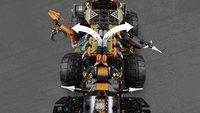 LEGO Ninjago 70654 Le véhicule de combat Dieselnaut-Image 3