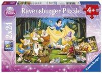 Ravensburger puzzle 2 en 1 Blanche-Neige et les 7 nains