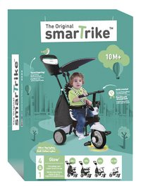 smarTrike tricycle 4 en 1 Glow noir-Avant