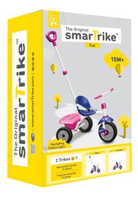 smarTrike driewieler New Fun paars/roze-Vooraanzicht