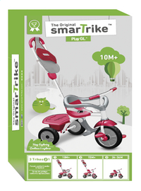 smarTrike tricycle 3 en 1 Play GL rouge/gris-Avant