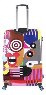 Saxoline Harde reistrolley Fauvism 80's chic Spinner 77 cm-Achteraanzicht