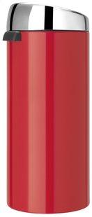 Brabantia poubelle Touch Bin 30 l Passion Red-Arrière