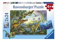 Ravensburger puzzle 2 en 1 Géants de la préhistoire