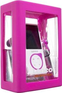 Lenco mp4-speler Xemio-657 4 GB roze-Linkerzijde