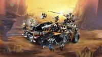 LEGO Ninjago 70654 Le véhicule de combat Dieselnaut-Image 7