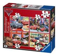 Ravensburger puzzle évolutif 4 en 1 Cars 2
