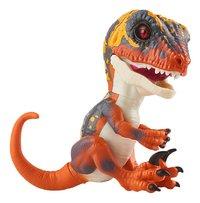WowWee figurine interactive Fingerlings Untamed Velociraptor Blaze-Côté gauche