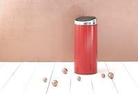 Brabantia poubelle Touch Bin 30 l Passion Red-Image 3
