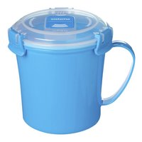 Sistema Tasse à soupe Microwave Colour Medium Soup blue 656 ml-Avant
