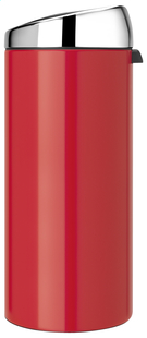 Brabantia afvalemmer Touch Bin 30 l Passion Red-Linkerzijde