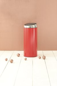 Brabantia poubelle Touch Bin 30 l Passion Red-Image 2