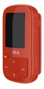 SanDisk mp3-speler Clip Sport Plus 16 GB rood-Rechterzijde