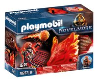 PLAYMOBIL Novelmore 70227 Burnham Raiders et fantôme du Feu-Côté gauche
