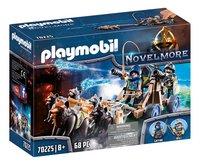 PLAYMOBIL Novelmore 70225 Chevaliers Novelmore avec canon et loups-Côté gauche