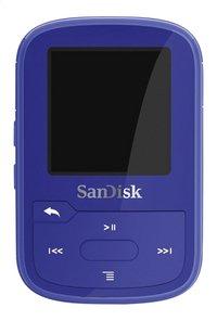 SanDisk mp3-speler Clip Sport Plus 16 GB blauw-Vooraanzicht