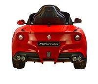 Elektrische auto Ferrari F12 Berlinetta-Achteraanzicht