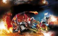 PLAYMOBIL Novelmore 70226 Burnham Raiders et dragon doré-Image 1