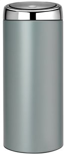 Brabantia afvalemmer Touch Bin 30 l metallic mint