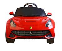 Voiture électrique Ferrari F12 Berlinetta-Vue du haut