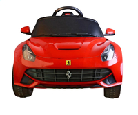 Elektrische auto Ferrari F12 Berlinetta-Bovenaanzicht