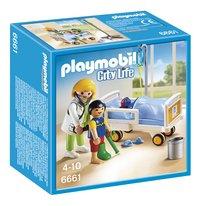 PLAYMOBIL City Life 6661 Chambre d'enfant avec médecin-Avant