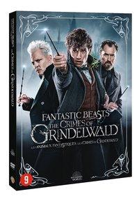 Dvd Fantastic Beasts The Crimes of Grindelwald + kaarten-Linkerzijde