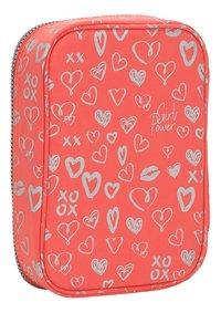 Kipling pennenzak 100 Pens Hearty Pink Met-Achteraanzicht