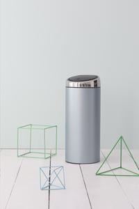 Brabantia afvalemmer Touch Bin 30 l metallic mint-Afbeelding 1