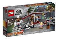 LEGO Jurassic World 75932 La poursuite du Vélociraptor - Jurassic Park-Côté gauche