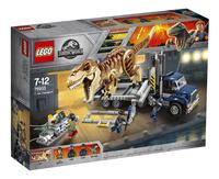 LEGO Jurassic World 75933 T-Rex transport-Linkerzijde