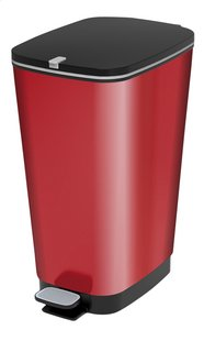 Kis Pedaalemmer Chic Bin metallic red